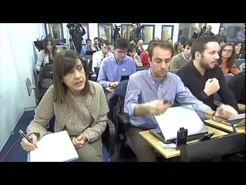 Rueda de prensa de Cesar Luena