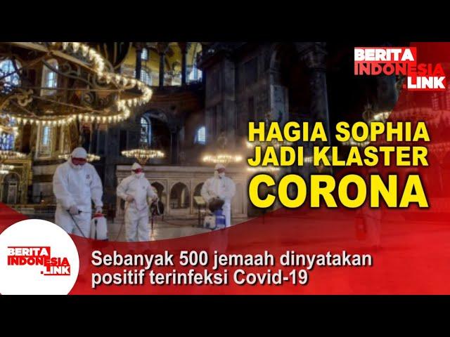 Hagia Sophia Jadi Klaster Baru