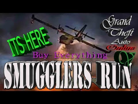 GTA ONLINE HOW TO BUY YOUR OWN AIRCRAFT MILITARY BASE!( SMUGGLERS RUN DLC)SOLO