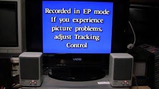 Crappy Labtec speakers meet creepy VHS intros
