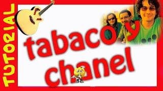 Como tocar TABACO Y CHANEL en guitarra Tutorial Rasgueo intro