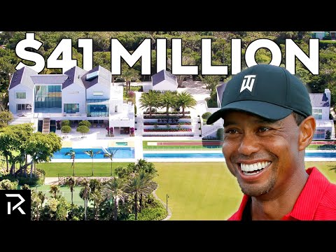 Inside Tiger Woods' $41 Million Mansion - TheRichest