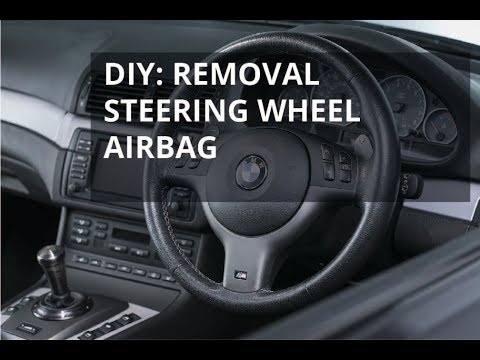 Steering Wheel Airbag Removal Or Replacement Diy For Bmw Z3 3 Series X5 E36 E46 E39 E53 E38 M3