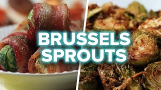 Brussels Sprouts 4 Ways
