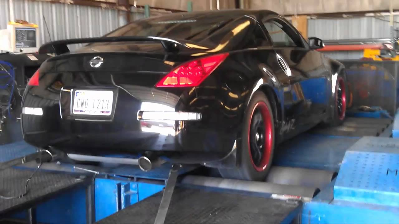 losmt2 - 350z stock exhaust vs flowmaster - youtube