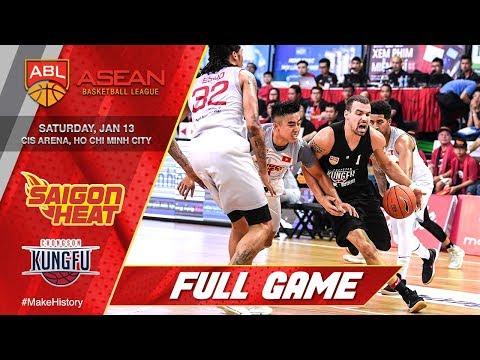 Saigon Heat vs Chong Son Kung Fu   FULL GAME   2017-2018 ASEAN Basketball League