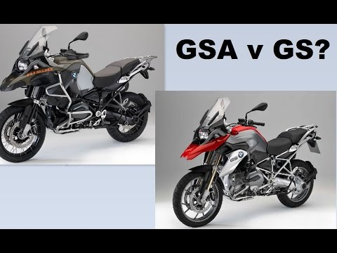 Whats better BMW GS or GSA?