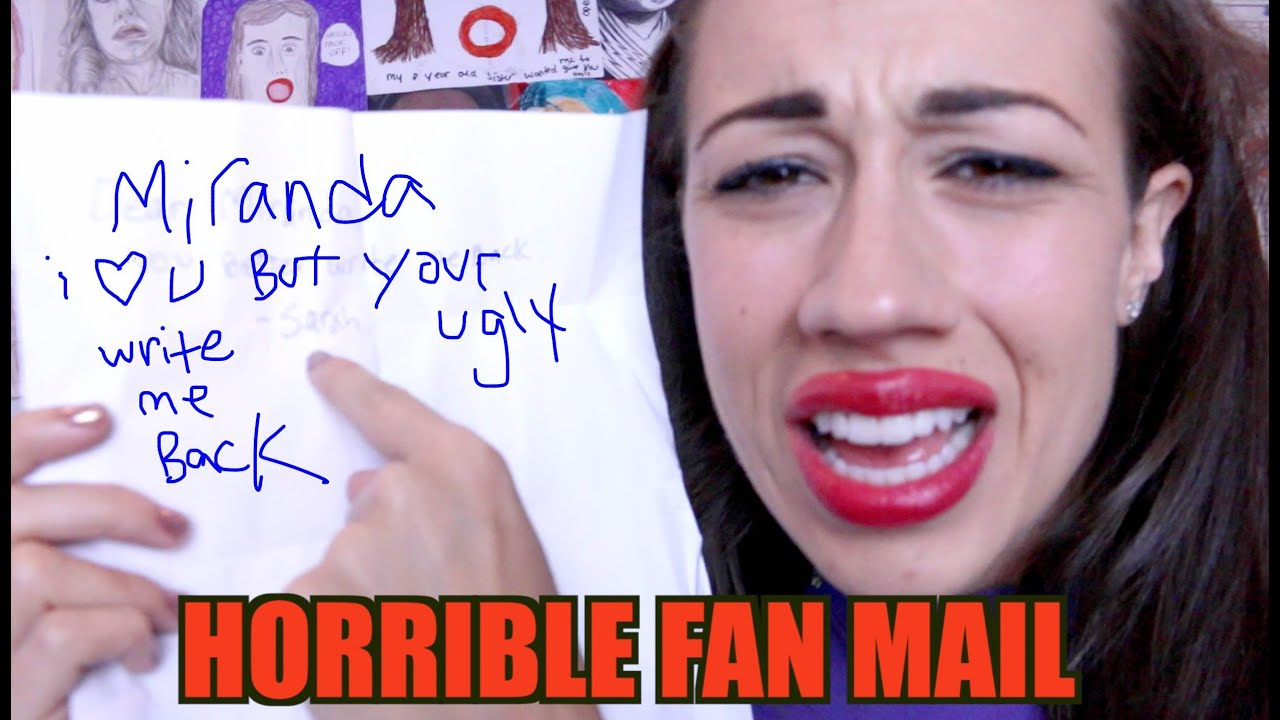 valentines day hate for him quotes - HORRIBLE FAN MAIL