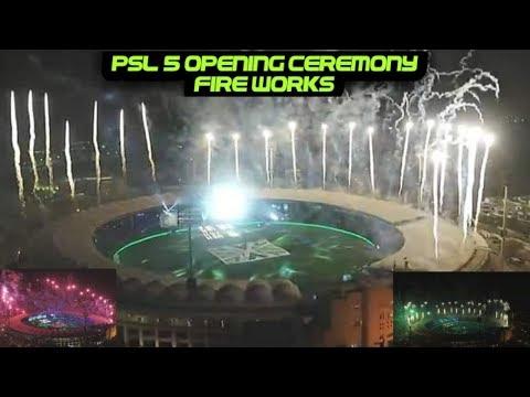 HBL PSL 5 Opening Ceremony | Tayyar Hain | Fireworks