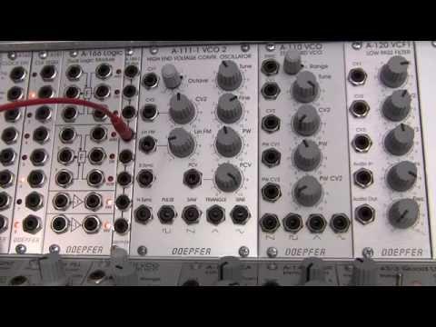 Doepfer A-111-1 High End VCO- Pulse Width Modulation