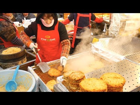 KOREAN STREET FOOD TOUR of GWANGJANG Market in SEOUL, South Korea
