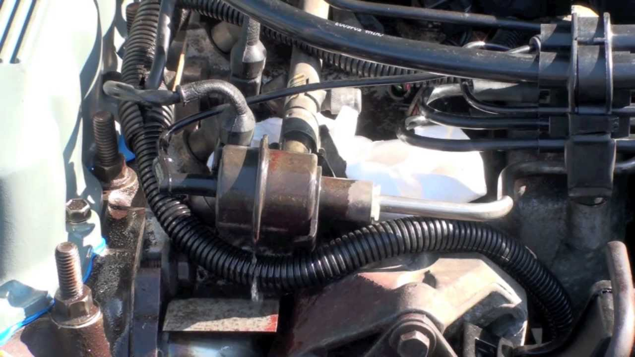 1993 Jeep Cherokee Fuel Filter Location