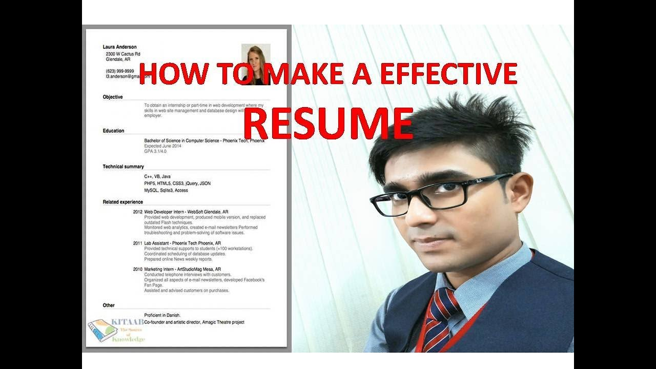 How To Make A Effective Resume For My Airlines Interview Resume Or