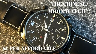 """Ochstin """"Chinese Moonwatch"""" Chronograph - VERY Affordable"""