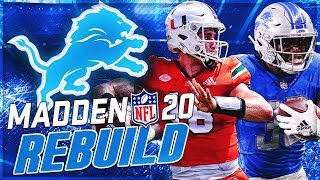 Rebuilding The Detroit Lions | Tate Martell Is Our Super Bowl or Bust QB | Madden 20 Franchise