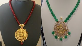 Gold And Crystal Necklace Designs 2019
