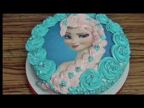 Elsa Torte Frozen Eis K 246 Nigin 3 Youtube