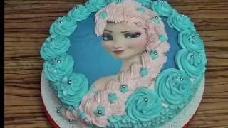 Elsa  Torte/Frozen/Eis Königin #3