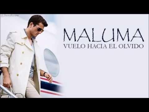 Maluma - Vuelo hacia el olvido ( Letra - Lyrics )