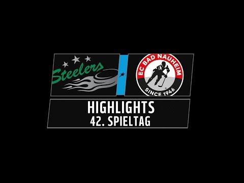 DEL2 Highlights 42. Spieltag | Bietigheim Steelers vs. EC Bad Nauheim