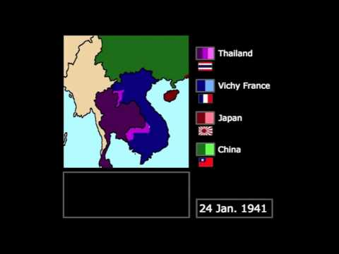 [WWII] The Franco-Thai War (1941): Every Day
