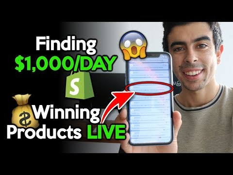 Finding $1,000/Day Products That You Can Brand In 2019-2020 | Shopify Product Research Mastery thumbnail