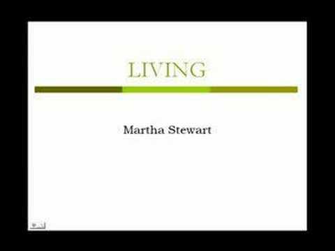 Martha Stewart - History 349B