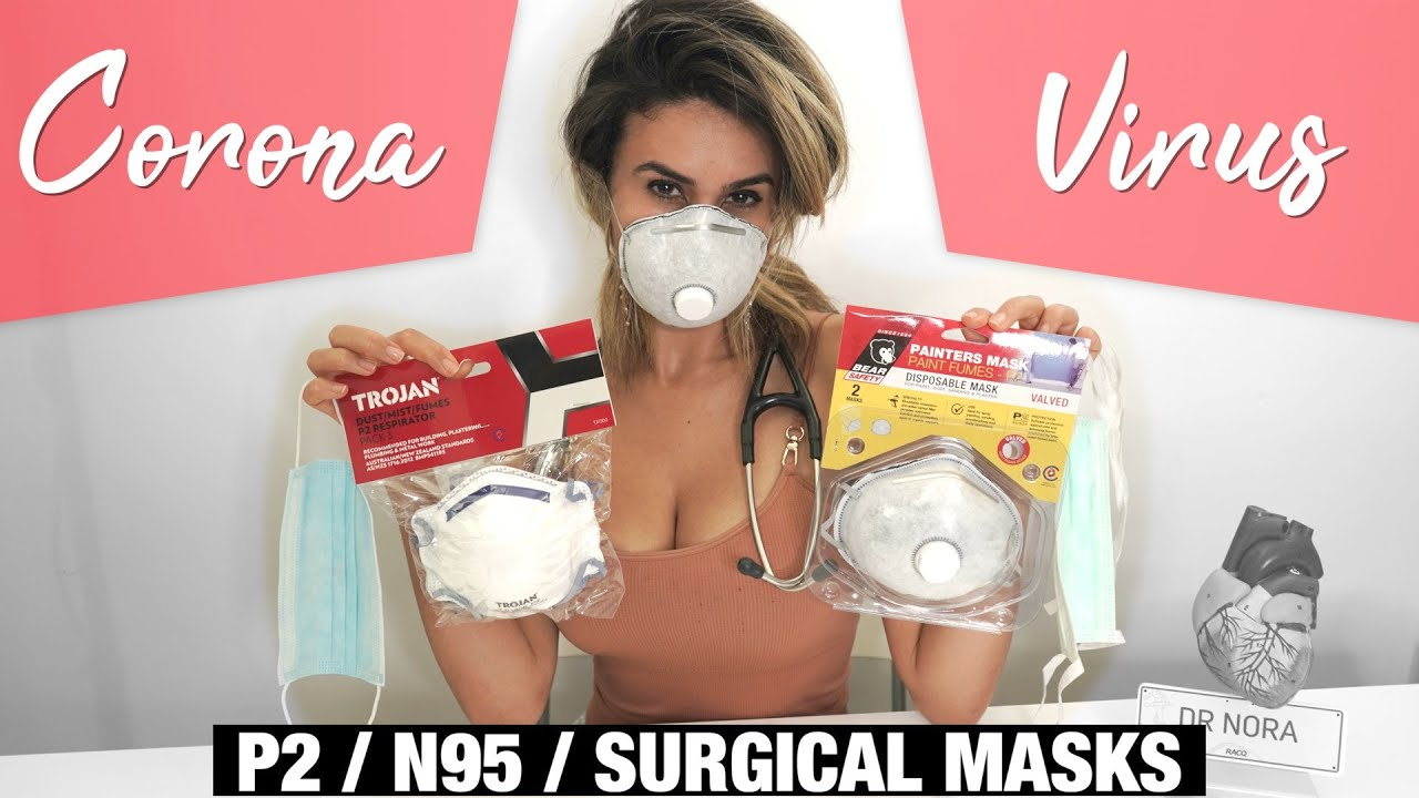 How to Protect Yourself with P2, N95 and Surgical Masks | Doctor Explains Coronavirus