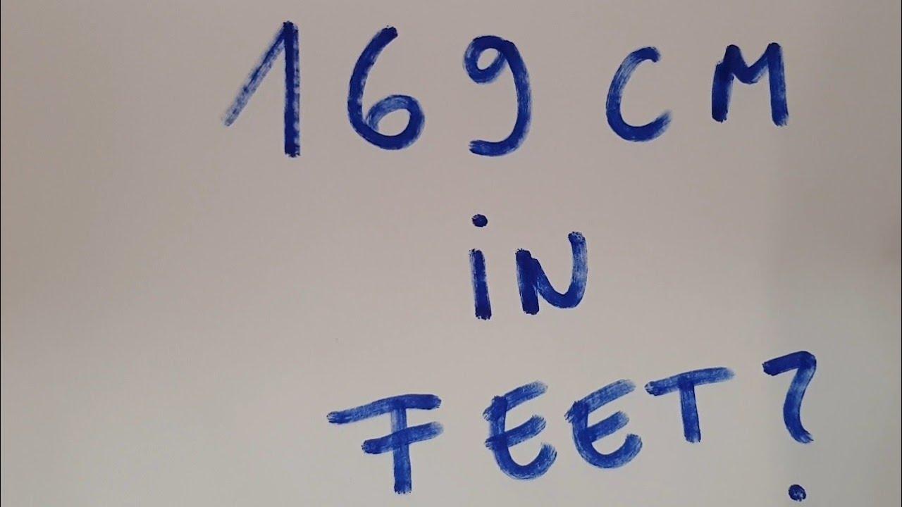 Cm in foot
