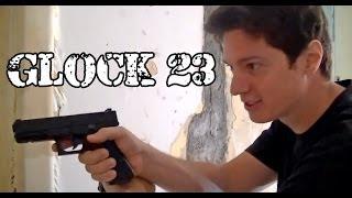 Vendo Airsoft Pistola Glock 23 GBB FULL METAL - Legalizada Brasil