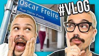 VLOG - Zoando as lojas chiques da rua mais cara de São Paulo | Diva Depressão