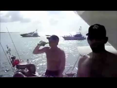 Jose Bautista Listens To All Over Your Face And Stuff On A Yacht