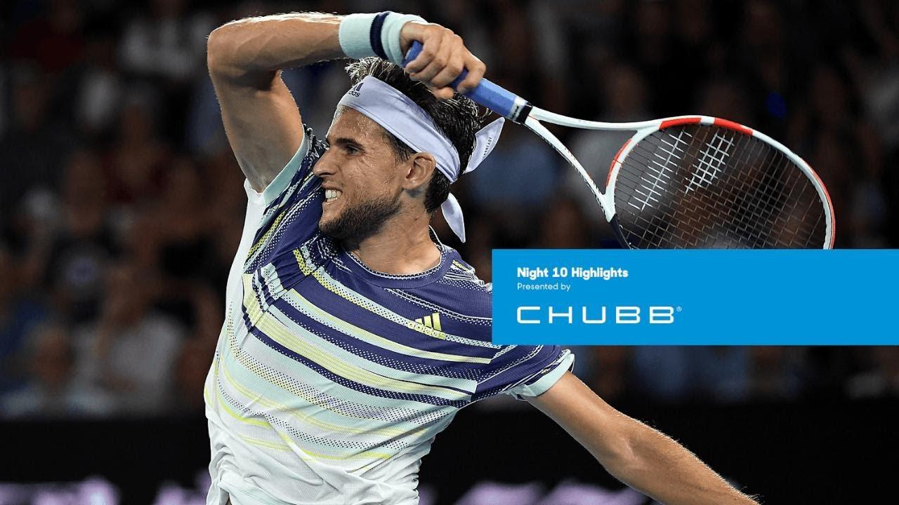 Dominic Thiem Shocks No 1 Seed Rafael Nadal Australian Open 2020 Day 10 Youtube
