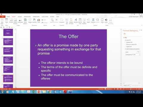 Webinar - Contracts 101