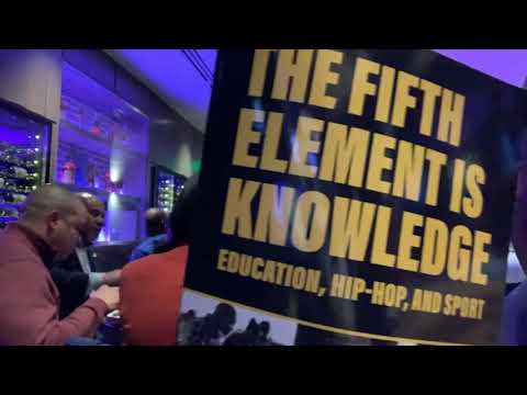 """C. Keith Harrison's New Book: """"The Fifth Element Is Knowledge"""" On Education, Hip-Hop, Sport"""