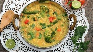 ওটস খিচুড়ি - ডায়েট রেসিপি | Vegetable Oats Khichuri Bangla | Easy Oats Khichdi | Oats Khichdi