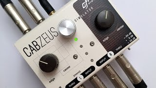 Cabzeus Speaker Simulator & DI Box - Full Demo