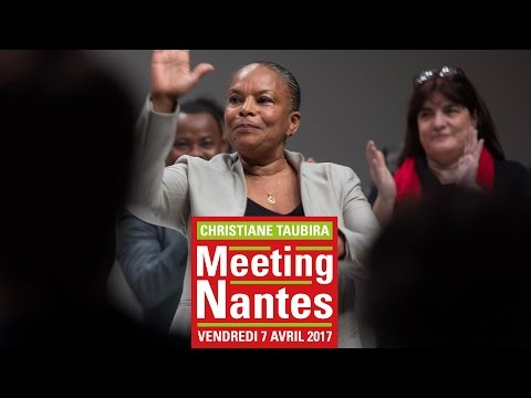 Meeting de Christiane Taubira à Nantes