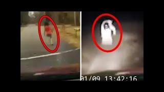 Sosok meresahkan dijalan - 5 penampakan hantu dan kejadian mengerikan dijalan yang terekam kamera