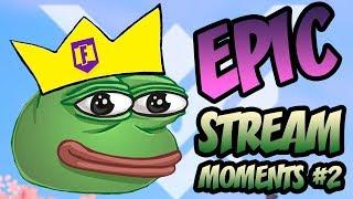 EPIC KEKISTAN KING STREAM MOMENTS!  Fortnite: Battle Royale moments #2
