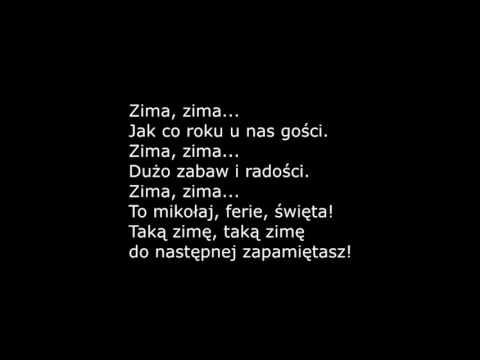 Zima - piosenka