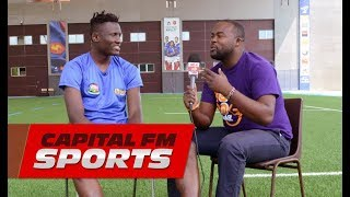 One on one with Harambee Stars and Kashiwa Reysol striker Michael Olunga