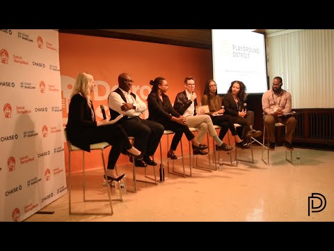 Strengthening Arts Infastructure in Detroit Panel Discussion at Detroit Startup Week 2016