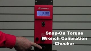 Snap-On Torque Wrench Calibration Checker   RPTS