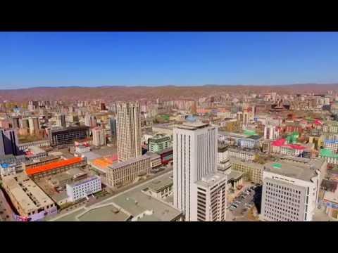 Ulaanbaatar, Mongolia DRONE