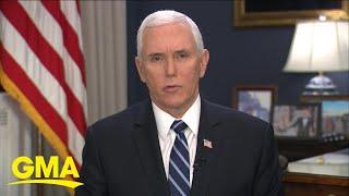 Vice President speaks about Trump's coronavirus plan l GMA