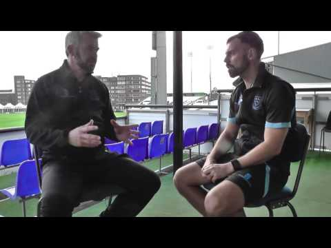 WINTER:  Carl Hopkinson chats to Jason Swift about Sussex's winter training