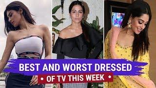 Hina Khan, Divyanka Tripathi : Tv's Best and Worst Dressed of the Week | Zee Golden Awards 2018