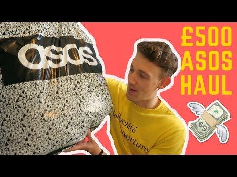 HUGE ASOS HAUL (£500!!!)