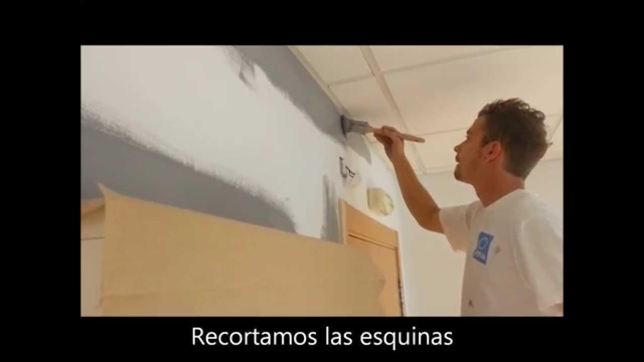 C mo pintar una pared con 10 trucos youtube - Trucos pintar paredes ...